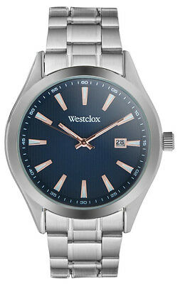 Westclox Men's Analog Quartz Stainless Steel Watch 51002