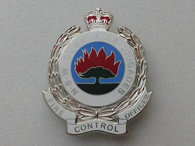 NSW Bush Fire Brigades Fire Control Officer Badge - Replica Badge Not Official