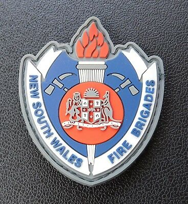 New South Wales Fire Brigades Rubber patch - Collectors Patch Not Official