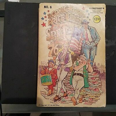 Overstreet Comic Book Price Guide - 6th edition  1976 Softcover