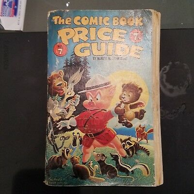 Overstreet Comic Book Price Guide - 7th edition  1977 Softcover