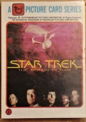 1979 Topps Star Trek The Motion Picture All 3 Different Complete Bread Sets
