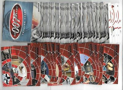James Bond 007 40th Anniversary Set of 60 Trading Cards & Extras Set BE1-BE19