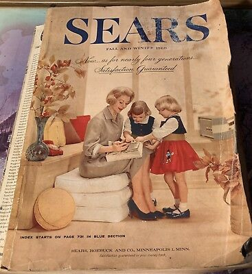 1960 Sears Catalog Fall Winter Mid Century Living 1594 Pages