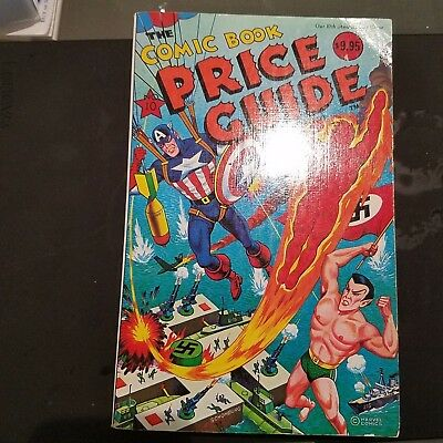 Overstreet Comic Book Price Guide - 10th edition  1980 Softcover