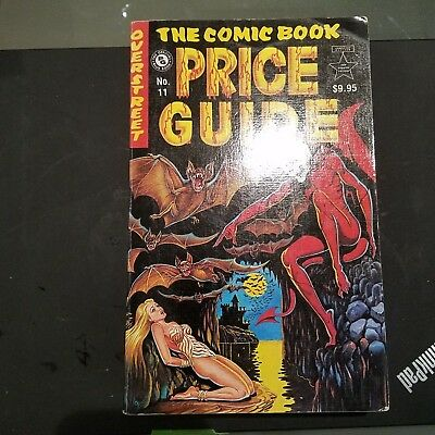 Overstreet Comic Book Price Guide - 11th edition  1981 Softcover