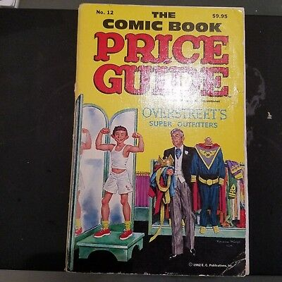 Overstreet Comic Book Price Guide - 12th edition  1982 Softcover
