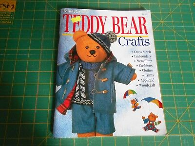 Family Circle - Teddy Bear Crafts -Something  For Bear Lovers - Good Condition -