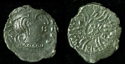 Silver Coin of the Western Kshatrapas (1st to 4th Century AD) (AI-1027-S)