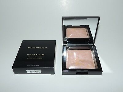 BareMinerals - Invisible Glow Powder Highlighter - Medium - 7g/0.24oz NIB