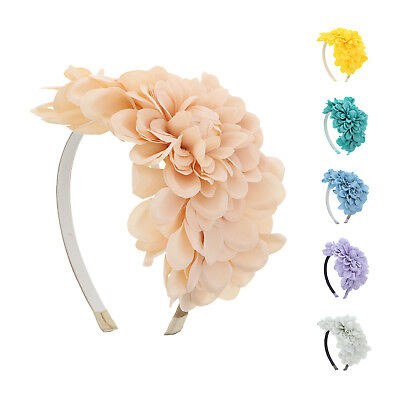 Stylish Girls Headband Large Flower Hairband Floral Hair Accessory Great Colors!
