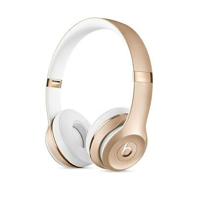 Brand New BEATS BY DRE 2018 Solo 3 WIRELESS  BLUETOOTH HEADPHONES - GOLD