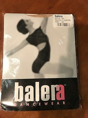 Balera T90 Lt. Suntan Dance Tights Size SA