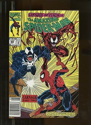 Amazing Spider-Man 362 VF 8.0 *1 Book* 1992 Marvel! 3rd app Carnage! Venom!