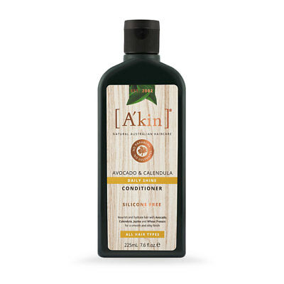 Akin Avocado & Calendula Conditioner 225Ml For All Hair Types By Alchemy