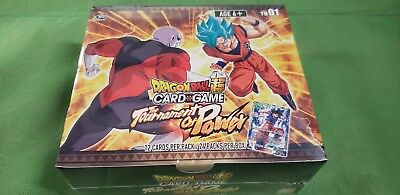 Dragon Ball Super Booster Box The Tournament of Power Card Game Dragonball