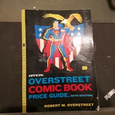Overstreet Comic Book Price Guide - 38th edition  2008 Softcover