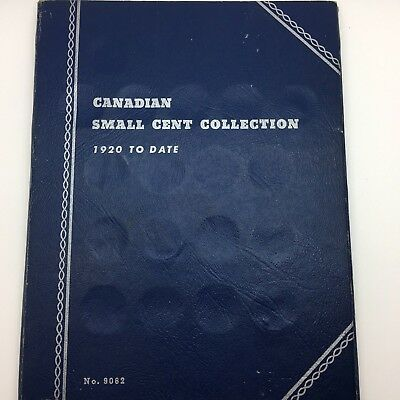 Canadian Small Cent Collection 1920-68 Whitman Album 47 coins 1928 1931 1935