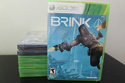 Brink  (Xbox 360, 2011) *New/Factory Sealed