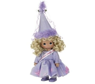 Precious Moments 12 Inch Doll, 'Happy Birthday Princess', New In Box, 4424
