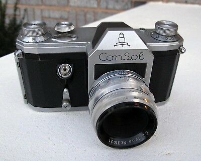 Rare and Unusual Zeiss Pentacon ConSol 1955
