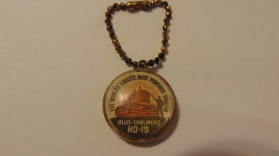 Allis Chalmers Tractor Encased 1946-D Cent Coin Token