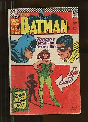 Batman 181 Qualified VG/FN 5.0 *1 Book* 1966 DC Comics! 1st app Poison Ivy!