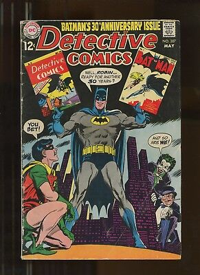 Detective Comics 387 FN 6.0 *1 Book* 1969 DC! 30th anniversary issue! Earth-2!