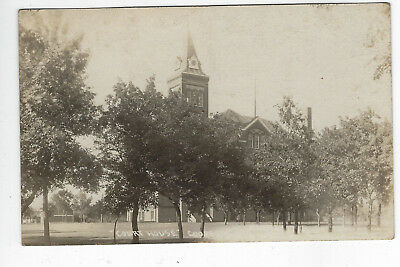 Cooperstown Nd Griggs County Court House Rppc New Photo Postcard Kruxo 1922