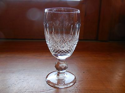 "Waterford Crystal Colleen Wine Sherry Glass 4 1/4"" Mint Made In Ireland Multiple"