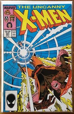 Uncanny X-Men #221 FIRST MR. SINISTER! Marvel 1987 Silverstri Great Condition