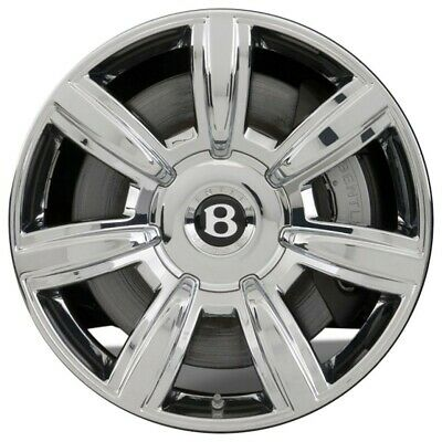 "Chrome 20"" Bentley Continental/gt/gtc/mulliner Oem Wheels Rims"