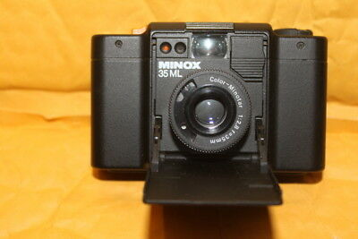Minox 35 ML  Camera , Minox flash, Cases ,  in MINT CONDITION ,Fully Functional