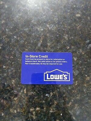 Lowe's Home Improvement • Store Credit card $513.12            [FREE SHIPPING!]