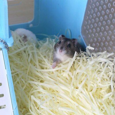 70g Hamster Cage Substrate Nesting Paper Strips Small Animal Bed Warm Confetti