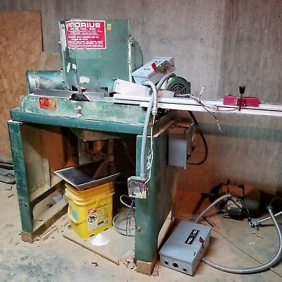 Pistorius Double Miter Picture Framing Saw Wvaccum System