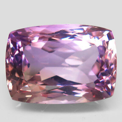 16.83ct.Elegent Gem! 100%Natural Bi Color Ametrine Unheated Bolivia AAA Rare Nr.