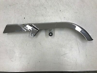 2002 Harley Softail Fatboy Chrome Upper Belt Chain Cover Guard