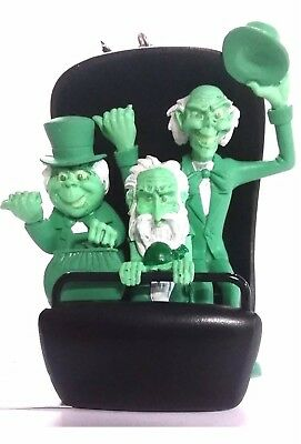 Disney Park Haunted Mansion Hitchhiking Ghosts Doom Buggy Christmas Ornament New