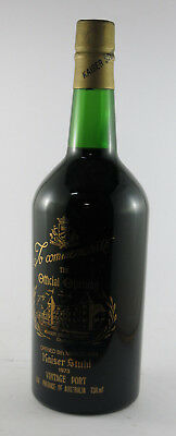Kaiser Stuhl  Barossa Valley Vintage Port 768ml 1973 #2