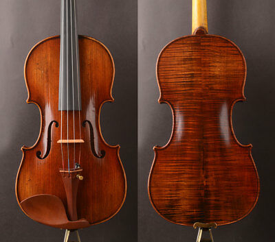 Oil anti!A M19+ Anto​nio Stradivari 1715 Copy Violin,warm rich,best tone