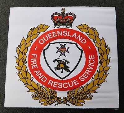 Queensland Fire & Rescue Service unfinished patch- Collectors Patch Not Official