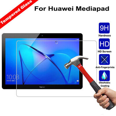 HD Tempered Glass Film For Huawei Mediapad T3 T5 10 T2 M3 M5 Screen Protectors