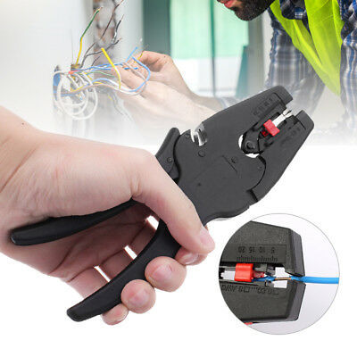 Automatic Cable Wire Crimper Crimping Tool Self-Adjustable Stripper Plier Cutter