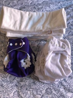 Modern Cloth nappies (MCN) - Cushie Tushies Tadpole Lot