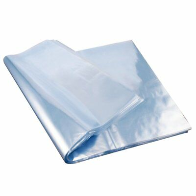 100x Clear POF Gift Wrapping Bags Heat Shrink Film Flat Bag for Soap Bath Bombs