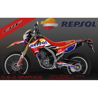 NEW! Honda CRF250L CRF250M CRF 250 CRF250 Graphics Sticker Kits