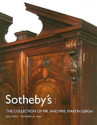 Sotheby's /// The Martin Gersh Antique Collection Post Post Auction Catalog 2006