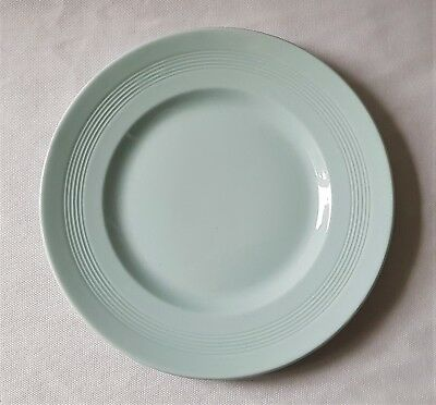 Lovely Vintage Woods Ware 'iris' Pale Blue Dinner Plate - Made In England