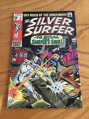 The Silver Surfer  #9. October 1969.